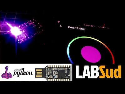 CircuitPython on MakerDiary NRF52840