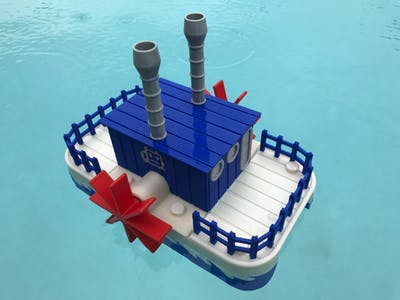 WiFi Paddle Boat