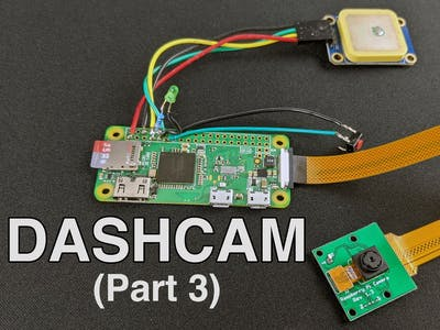 Making a Pi Zero Dashcam (pt. 3) : File Management & Enhance