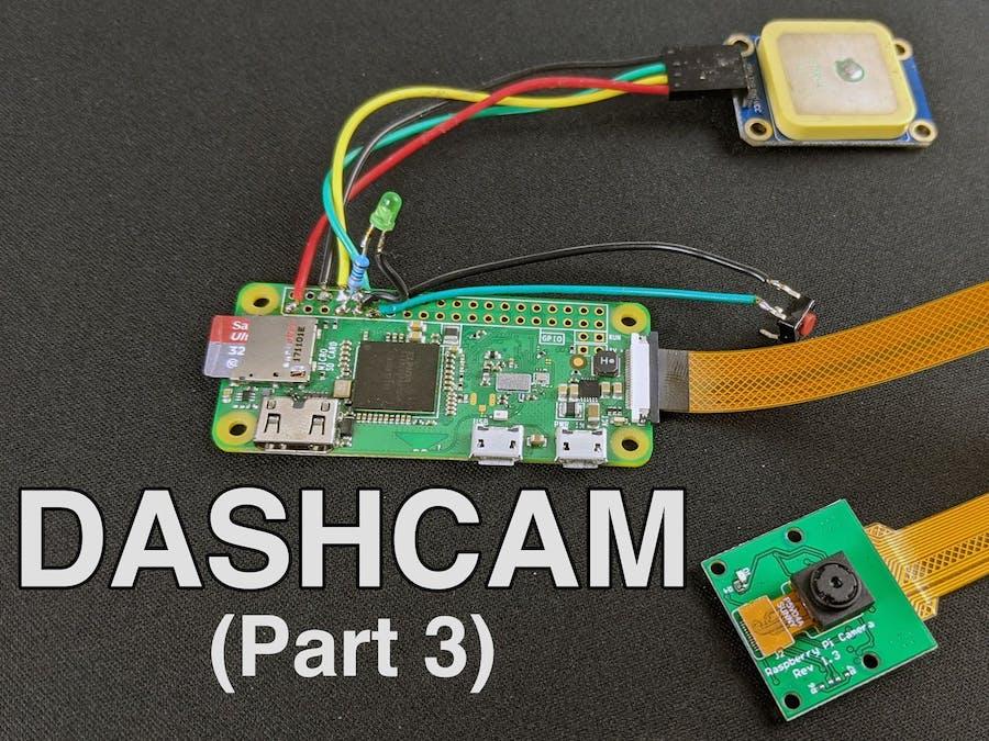 Making a Pi Zero Dashcam (pt. 3) : File Management & Enhance