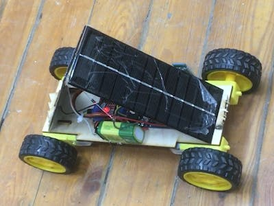 RC Robot Car With Solar Panels + Steps + Pictures