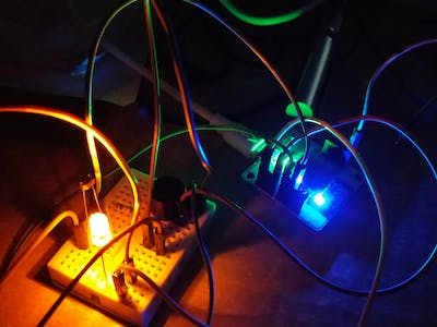 Component Testing and Light Monitoring Circuit