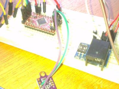 Mindstorms EV3 and the VL53l01x laser distance sensor