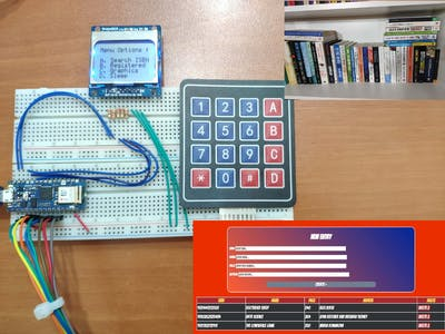 IoT ISBN Verifier with Nokia 5110 Screen