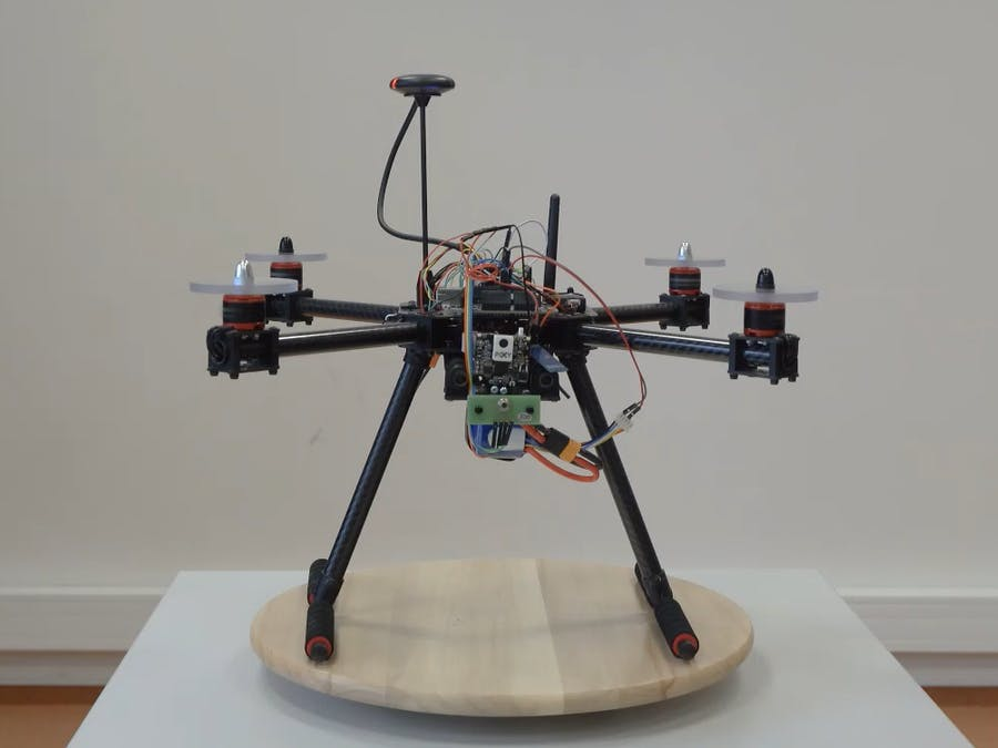 Object-tracking drone demo integrated into MCUX SDK
