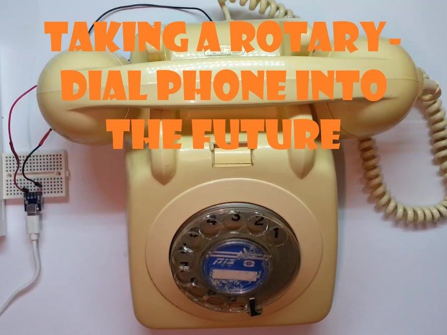 Taking a Rotary-Dial Phone Into the Future