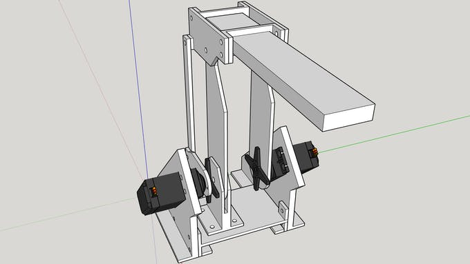 Example of CAD model
