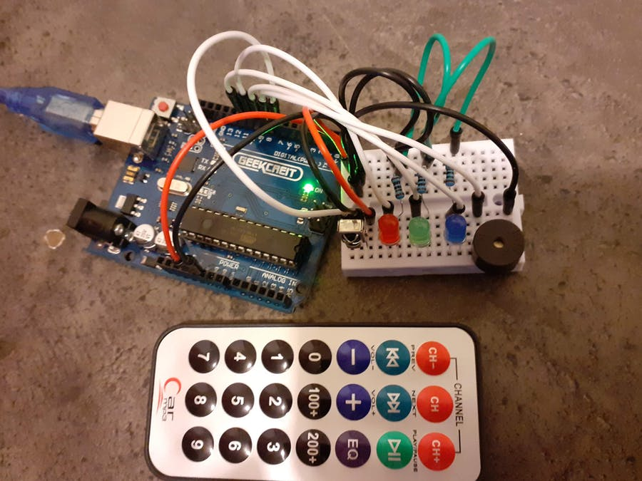 Simple IR Remote Project