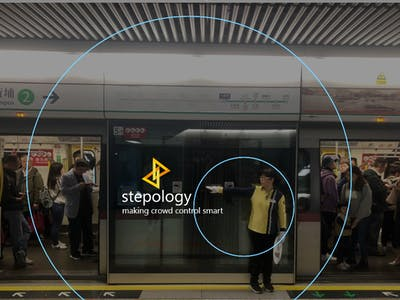 Stepology - makeing crowd contrl smart