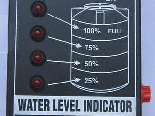 Water Level Indicator | Transistor basic circuits