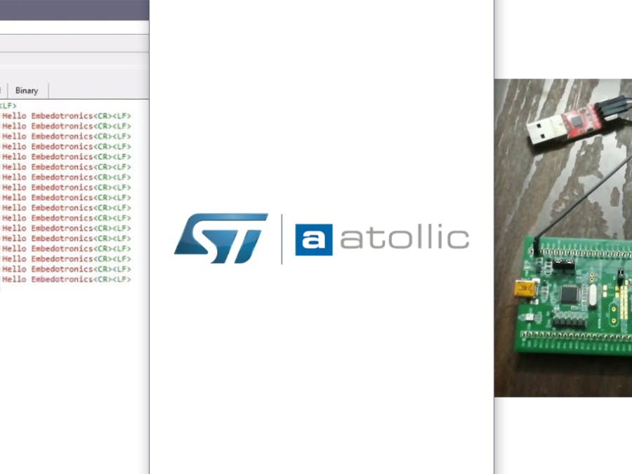 How to Receive Data From STM32 Based Microcontroller to PC