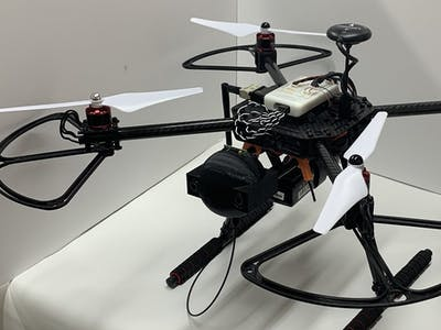 Extending Communications – Drone-based Radio Repeater