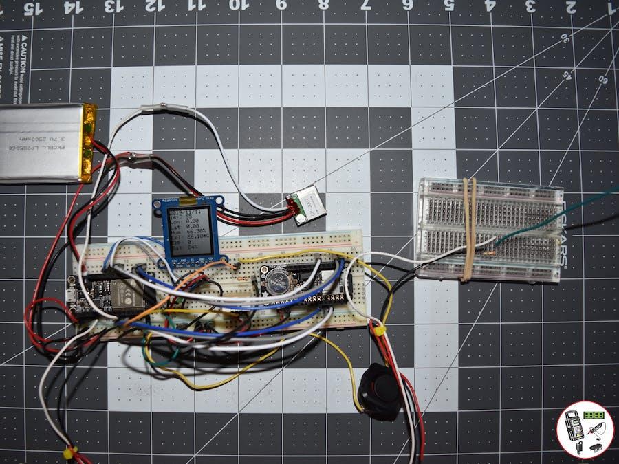 Project #11: ESP32 Feather - LiPo 2.5Ah - Mk10