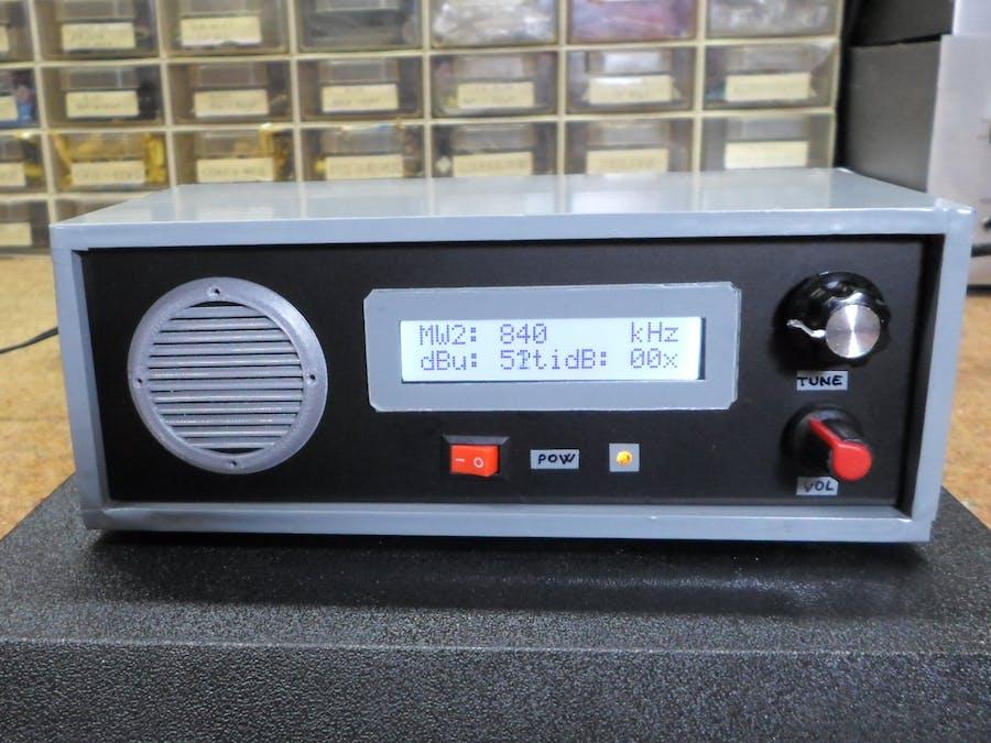 DIY Si4730 All Band Radio (LW, MW, SW, FM)