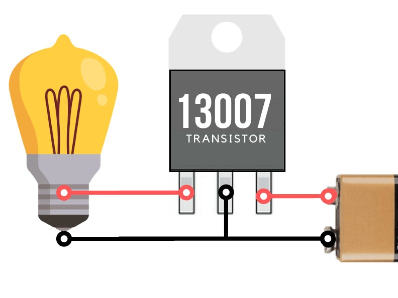 3V LED Dimmer Circuit