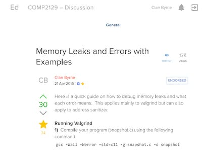 C - Memory Leaks and Errors with Examples