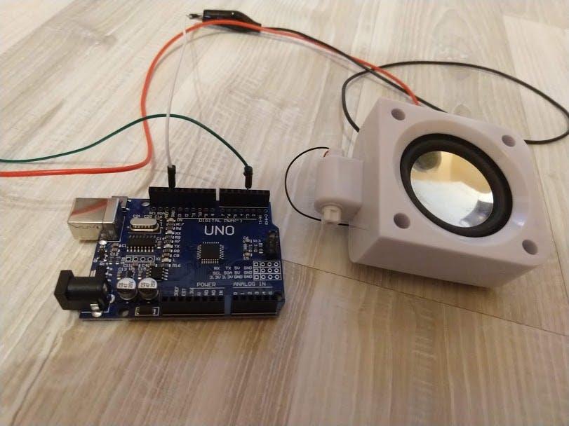 Speaker with Arduino - Arduino Project Hub