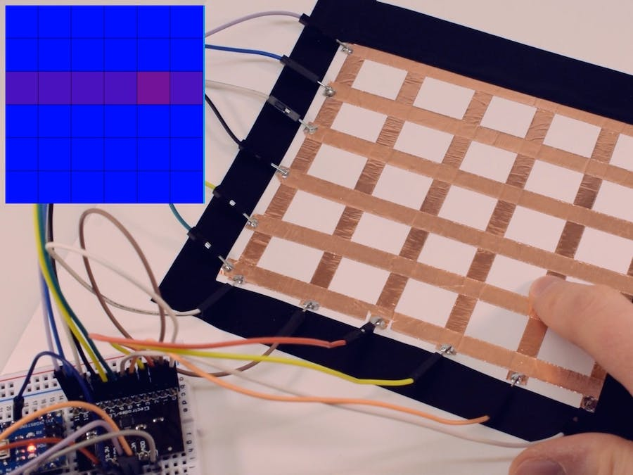 Capacitive Touch Sensing Grid