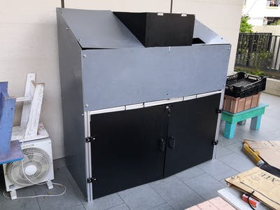 Auto Recyclables Sorting Machine based on A.I.