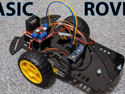 Making a Simple 2WD Rover Using an Arduino