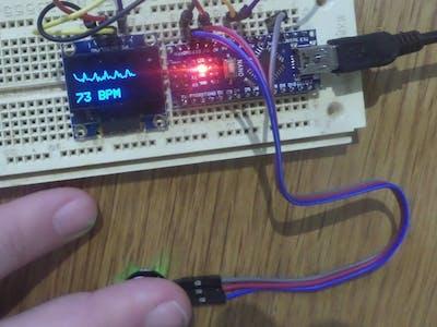 Simple Heart Rate Sensor Using Arduino