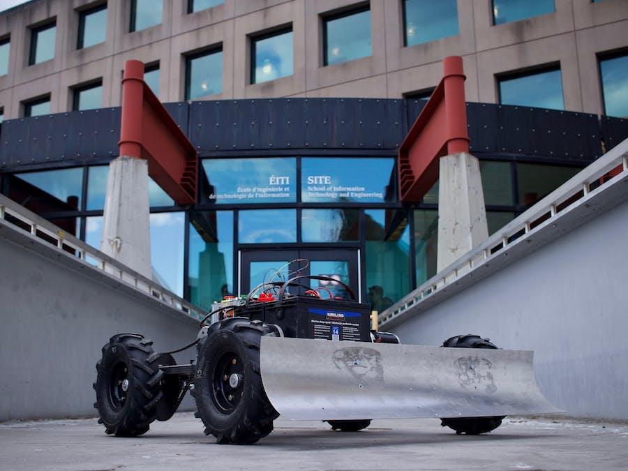 Autonomous Snowplow