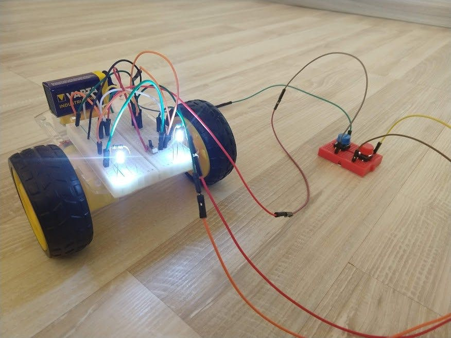 Robot without Arduino