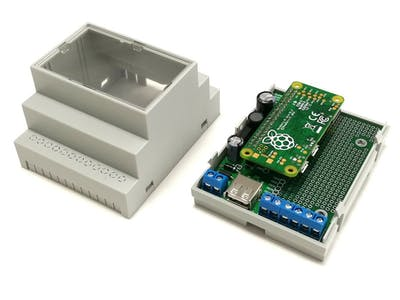 DIN Rail Mount for Rasberry Pi Zero