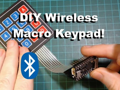 DIY Bluetooth Macro Keypad