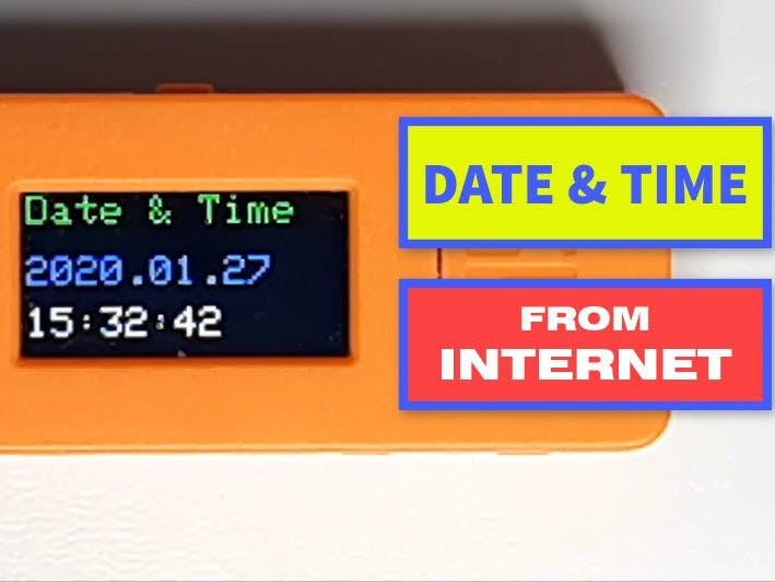 Get Time and Date From Internet - Tutorial