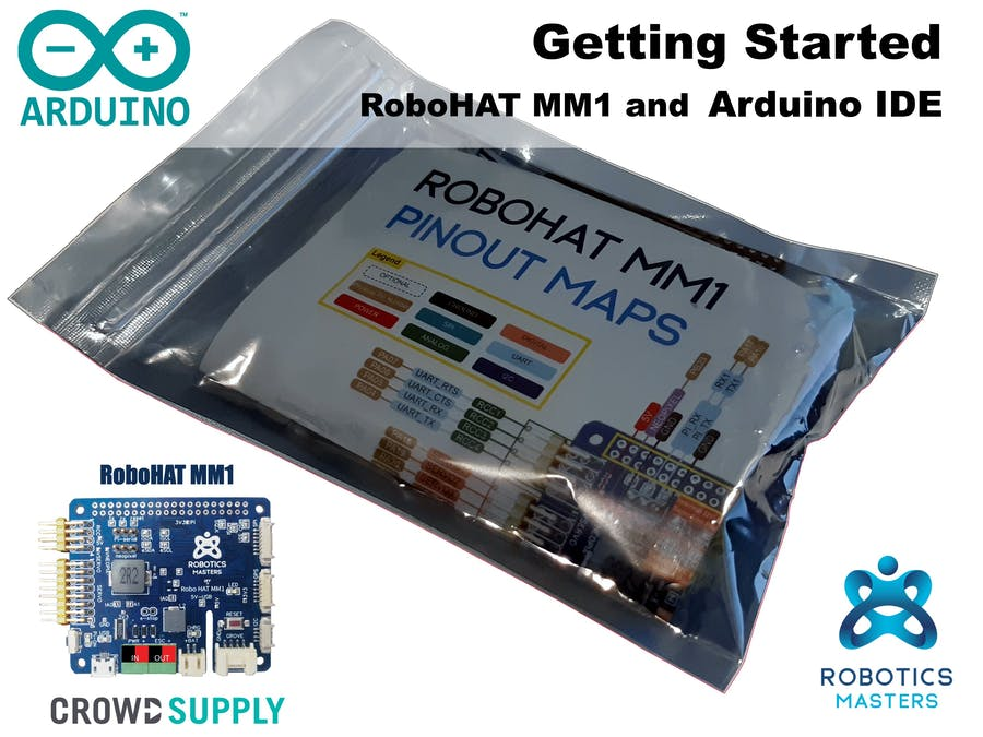 Getting Started with RoboHAT MM1 (Arduino IDE)