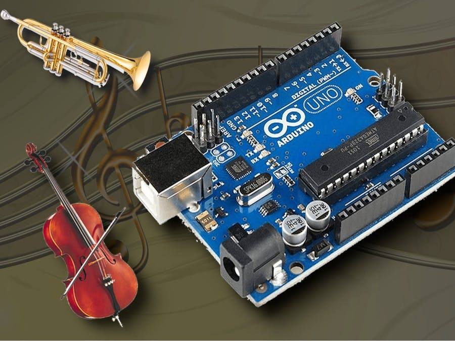 Arduino as Waveform Synthesizer for Music - Arduino Project Hub
