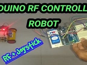 Arduino RF Controlled Robot