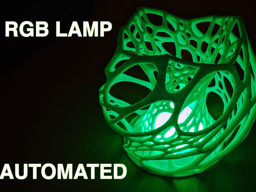 Automating an RGB Lamp With Your Phone by Using Hassio