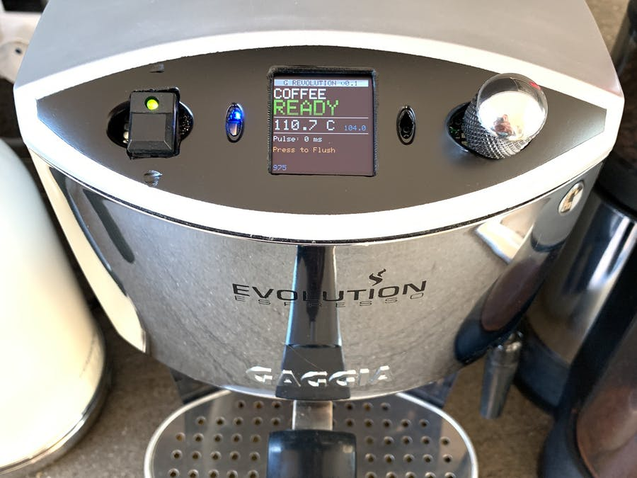 Coffee Machine Controller Using Particle Photon