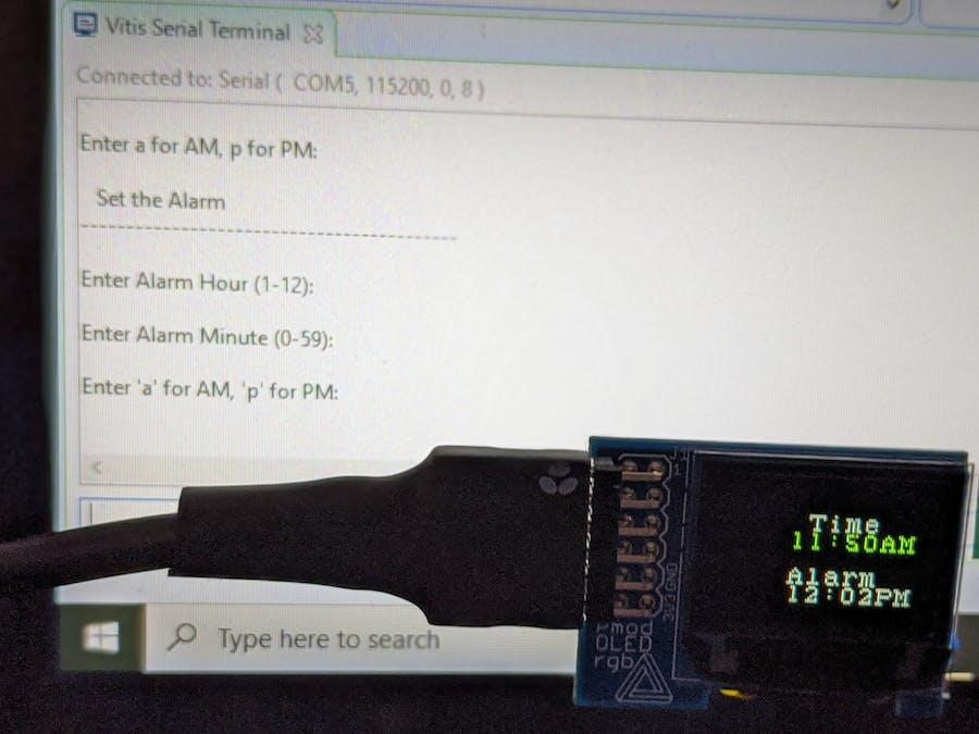 Mini But Mighty, MiniZed Alarm Clock