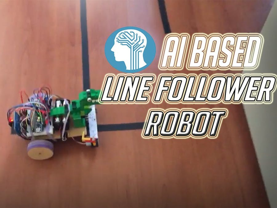 Artificial Intelligence (AI) Based Line Following Robot