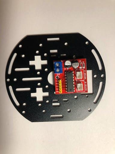 Platform with L298N controller
