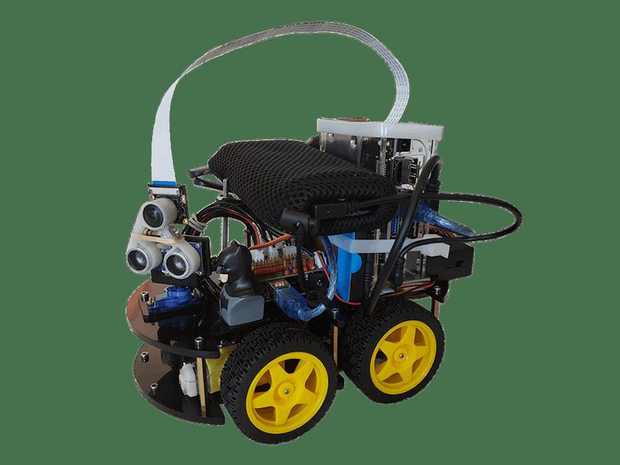 BatBot: an AI vision robot car with voice control app