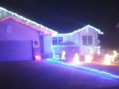 Outdoor Christmas Light Show