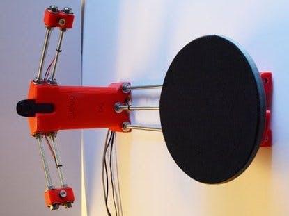 Ciclop desktop 3d laser scanner