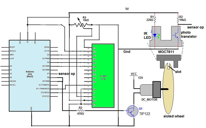 Dc Motor Speed Control And Measurement Arduino Project Hub