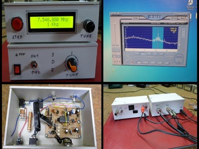 DIY Sensitive Software Defined Radio with AD9850 VFO