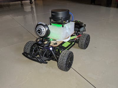 NaNoBot - An Autonomous Mapping and Surveillance Rover