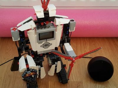 EV3 Robot - Dice Roller, powered by Alexa