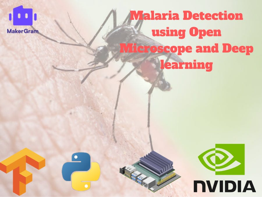 Malaria Detection using Open Microscope and Deep learning