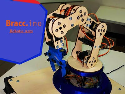 Bracc.ino - Robotic Arm