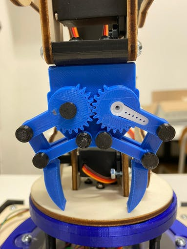 Gripper 3D printed