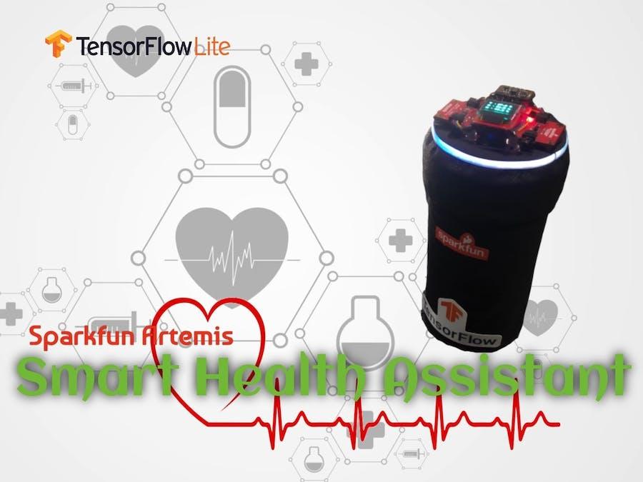 Smart Health Assistant via Sparkfun Artemis