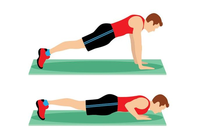 How to do a push up Pushup